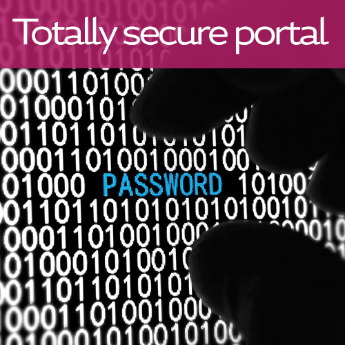 Your information is stored securely and we are fully compliant with the Data Protection Act