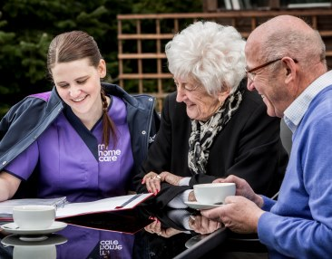 Mitie Plc. Mi Home Care marketing shoot. Credit: Ed Robinson/OneRedEye